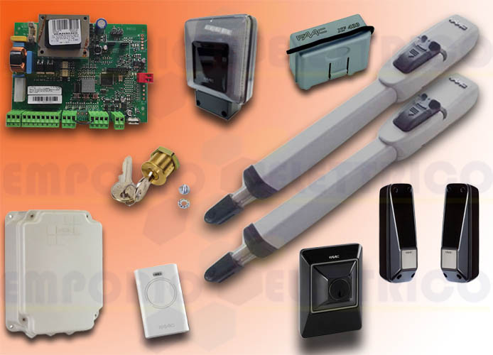 faac automation kit 230v ac master kit green 104415445