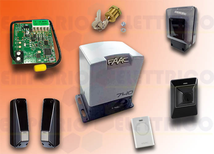 faac automation kit 740 230v delta2 kit safe 1056303445