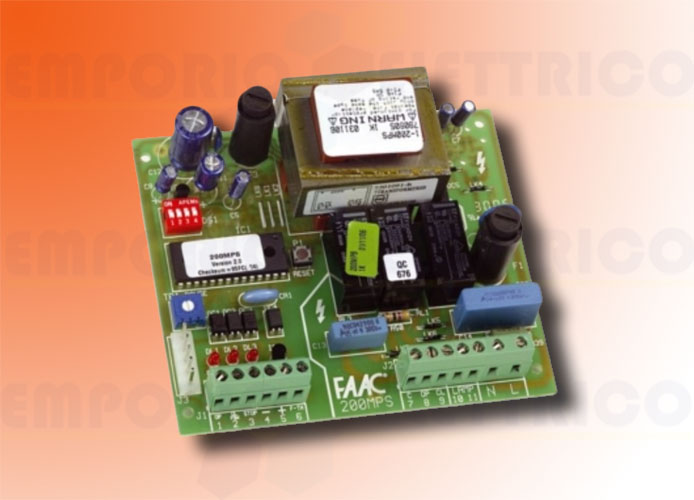 faac electronical board 200mps 230v ac 790905