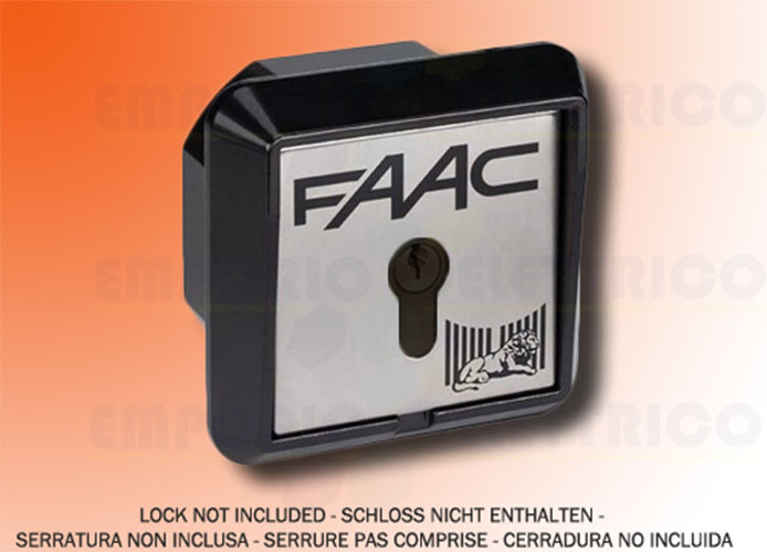 faac recessed key button 1 contact t20 i 401014