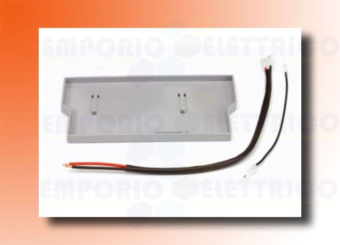 faac support kit for emergency batteries (for e124 electronic card) 390926