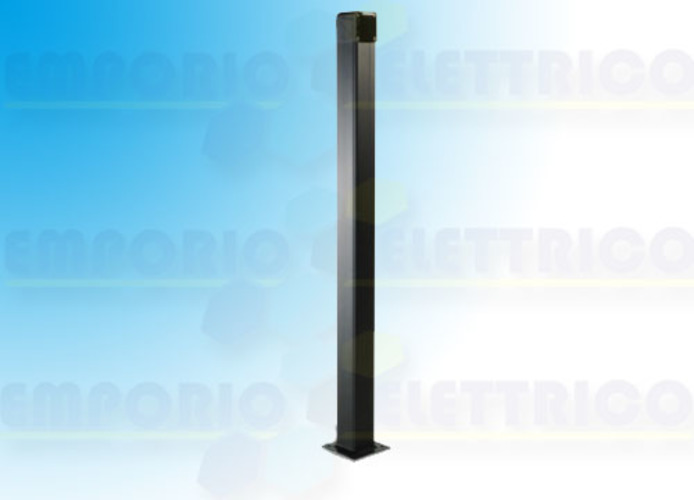 came black aluminium post h=1 mt 001cssn cssn