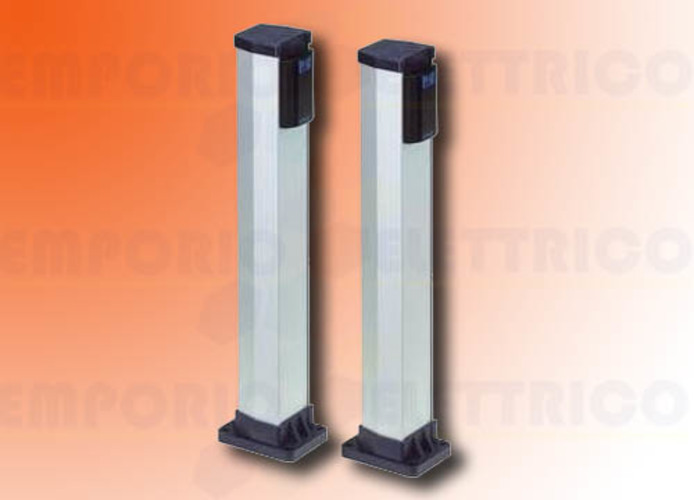 faac low aluminium column for fotoswitch and photobeam (2 Pc) 401028