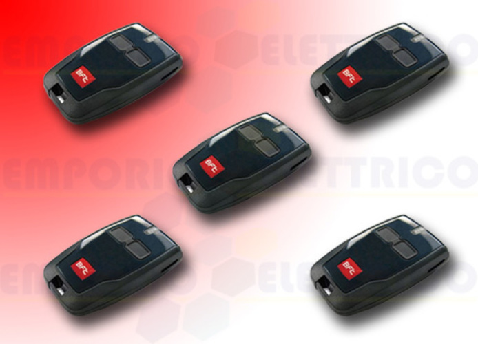 bft 5 x 2-channel remote control 433 mhz mitto b d111904