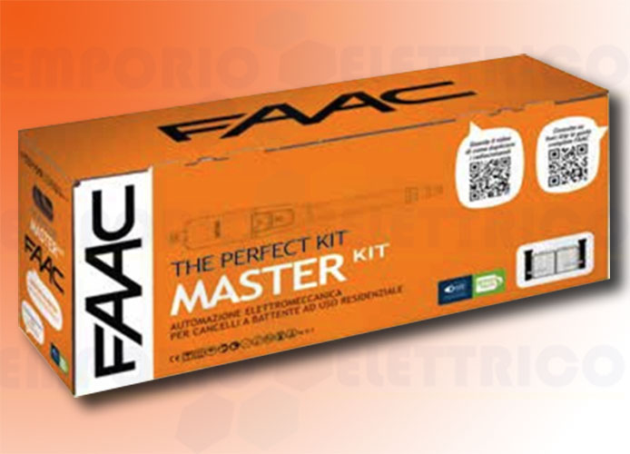 faac automation kit 230v ac master kit perfect 105910