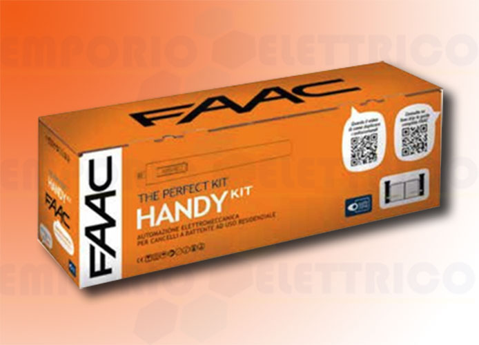faac automation kit 24v dc handy kit perfect 105915