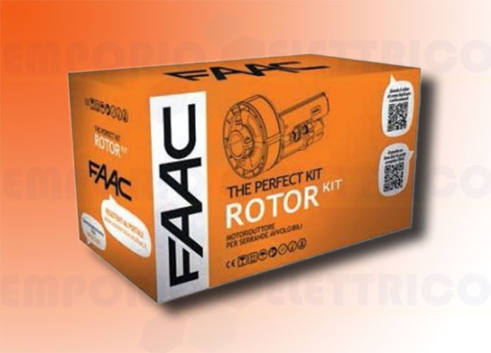 faac automation kit for rolling shutters rotor kit perfect 109940