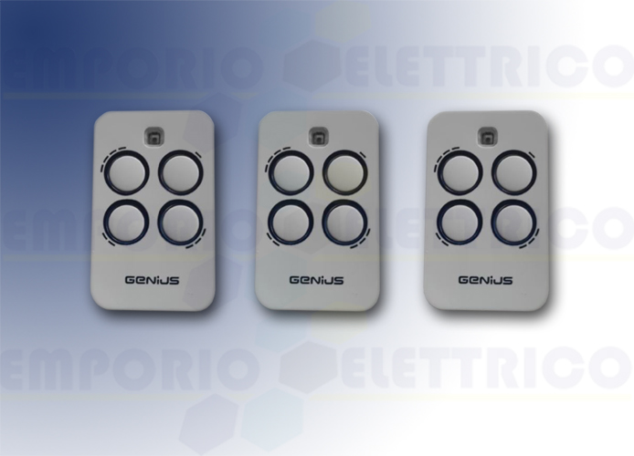 genius 3 4-channel remote controls 868mhz jlc kilo tx4 6100333