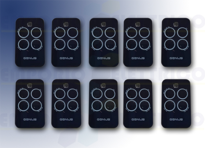 genius 10 4-channel remote controls 433mhz rc echo tx4 6100334