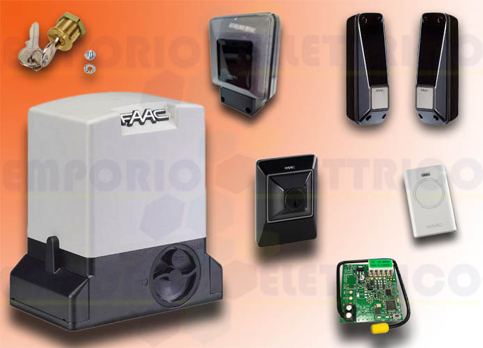 faac automation kit 230v ac delta3 kit safe 105630445fr