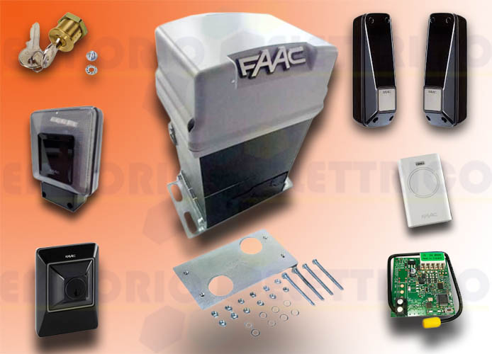 faac automation kit 230v ac pratico kit safe 10564944fr