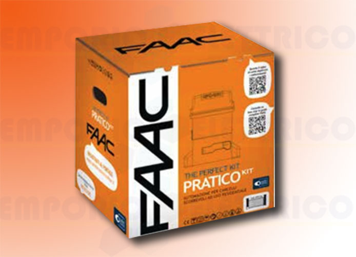 faac automation kit 230v ac pratico kit perfect 105912fr