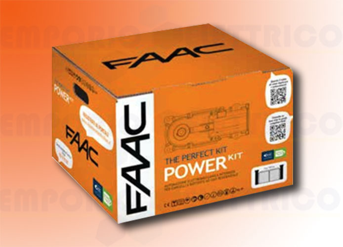 faac automation kit 230v ac power kit perfect 105913fr