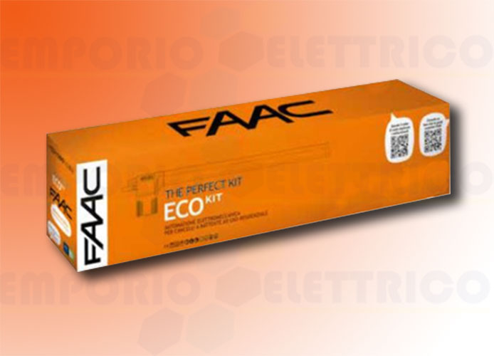 faac automation kit 230v ac eco kit perfect 105917fr