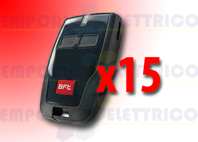 bft 15 x 2-channel remote control 433 mhz mitto b d111904