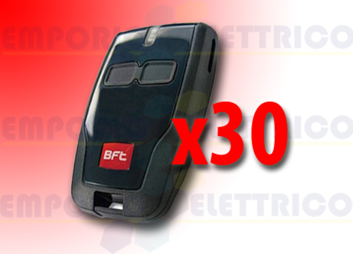 bft 30 x 2-channel remote control 433 mhz mitto b d111904